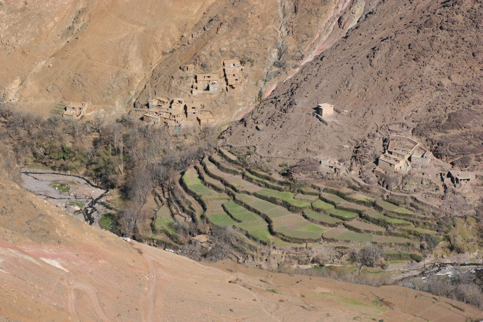High Atlas Berber Villages