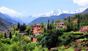 High Atlas Mountain Berber villages